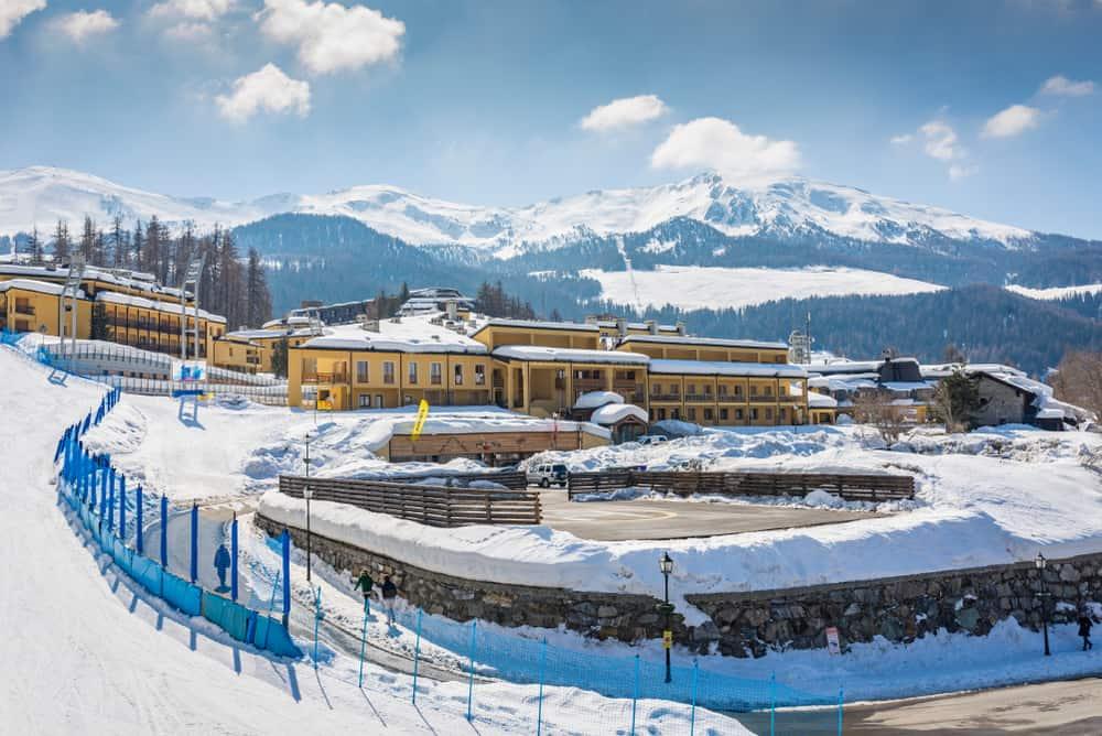 Pila Kayak Merkezi, İtalya