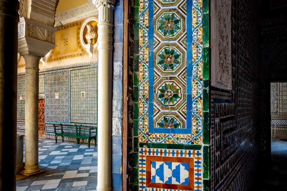 Pilutus Evi (Casa de Pilatos) Sevilla İspanyaSevilla İspanya