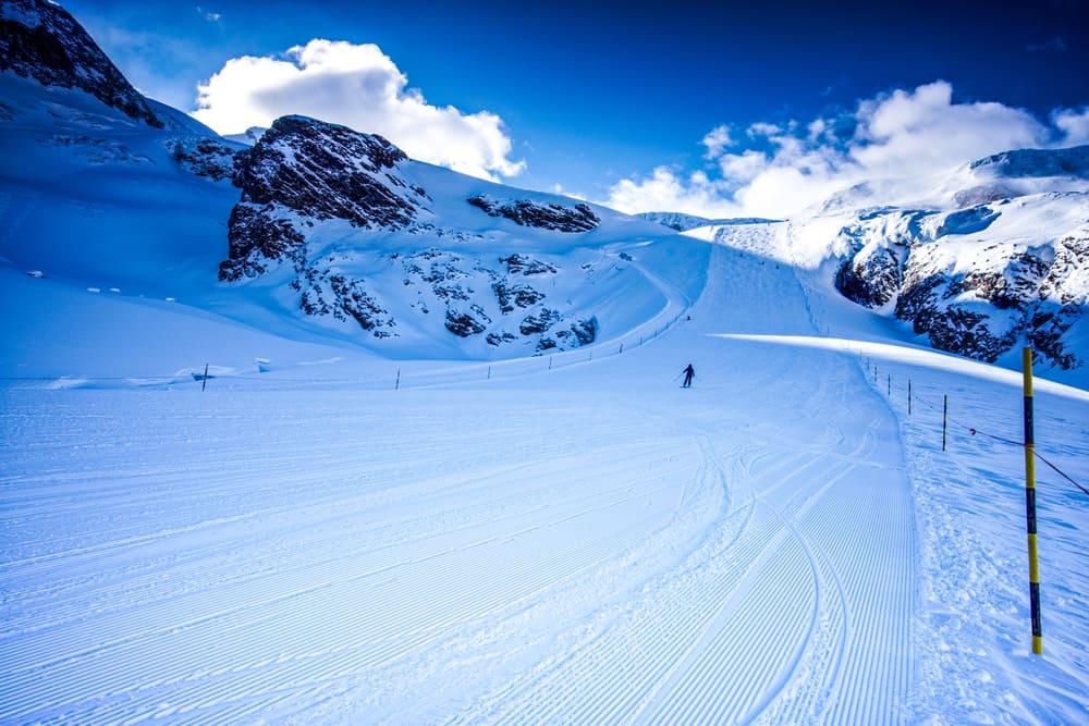 Saas-Fee Kayak Merkezi, İsviçre