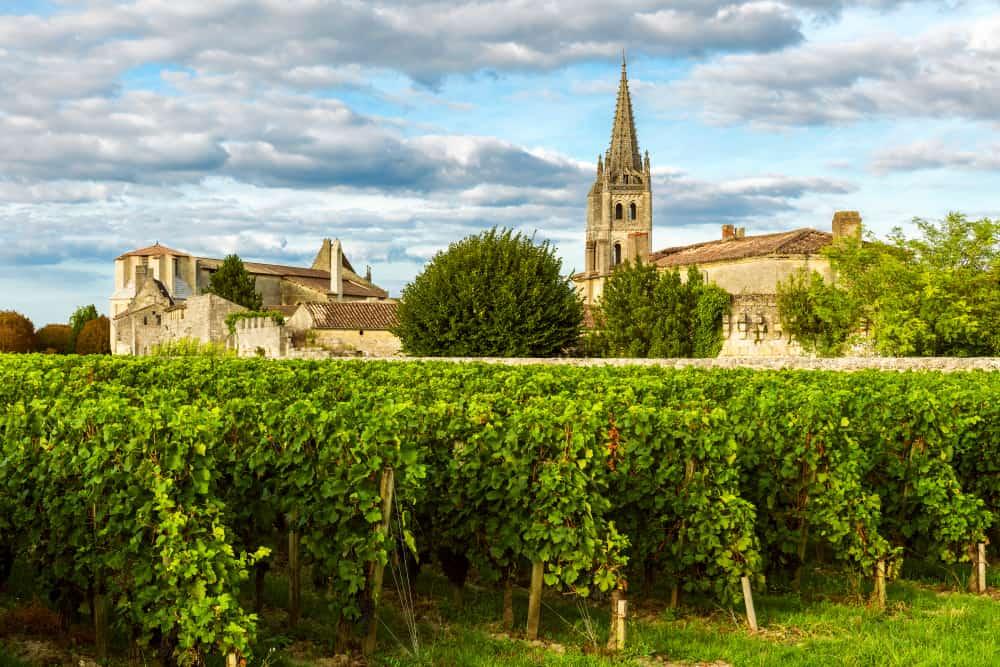 Saint-Émilion Bourdaux Fransa