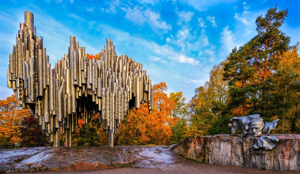 Sibelius Anıtı ve Parkı Helsinki