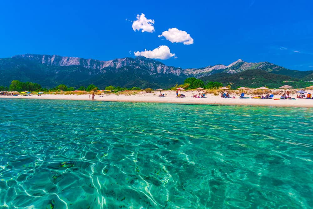 Thasos Adası, Yunanistan