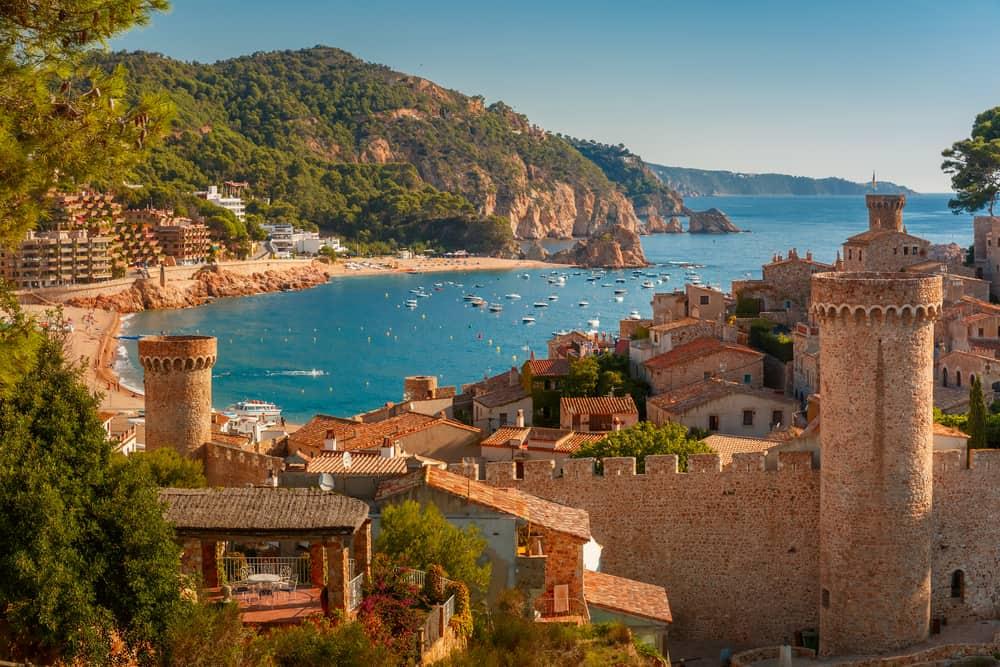 Tossa de Mar, İspanya
