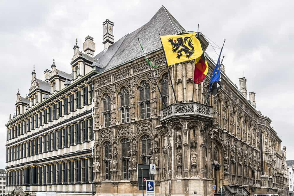 Town Hall (Belediye Binası)Ghent Belçika