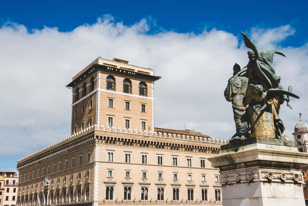 Venezia Sarayı Roma