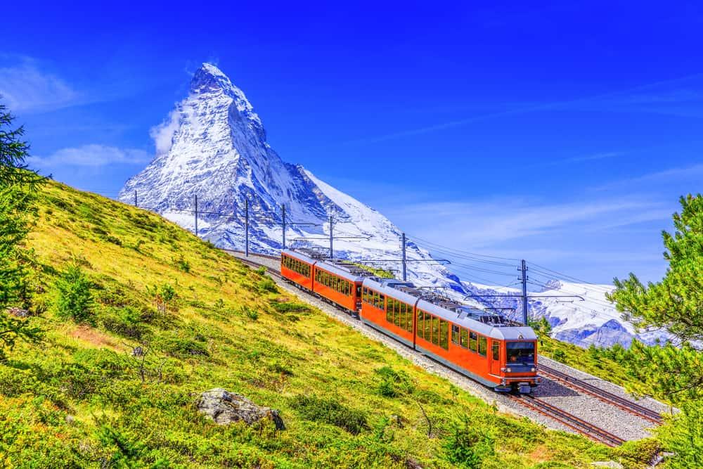 Zermatt Treni, İsviçre