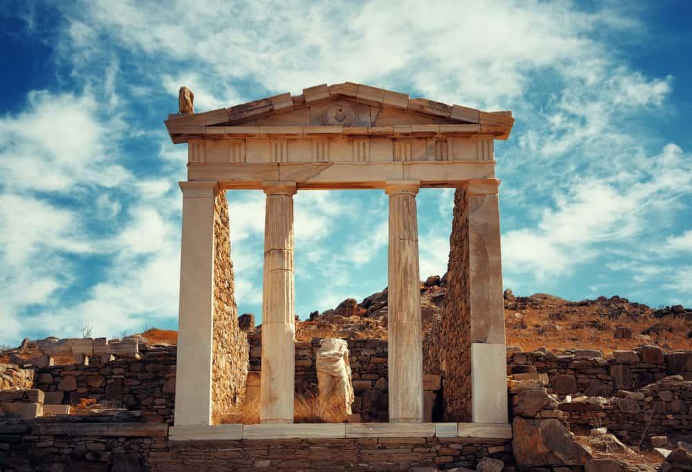 Delos Adası Mykonos