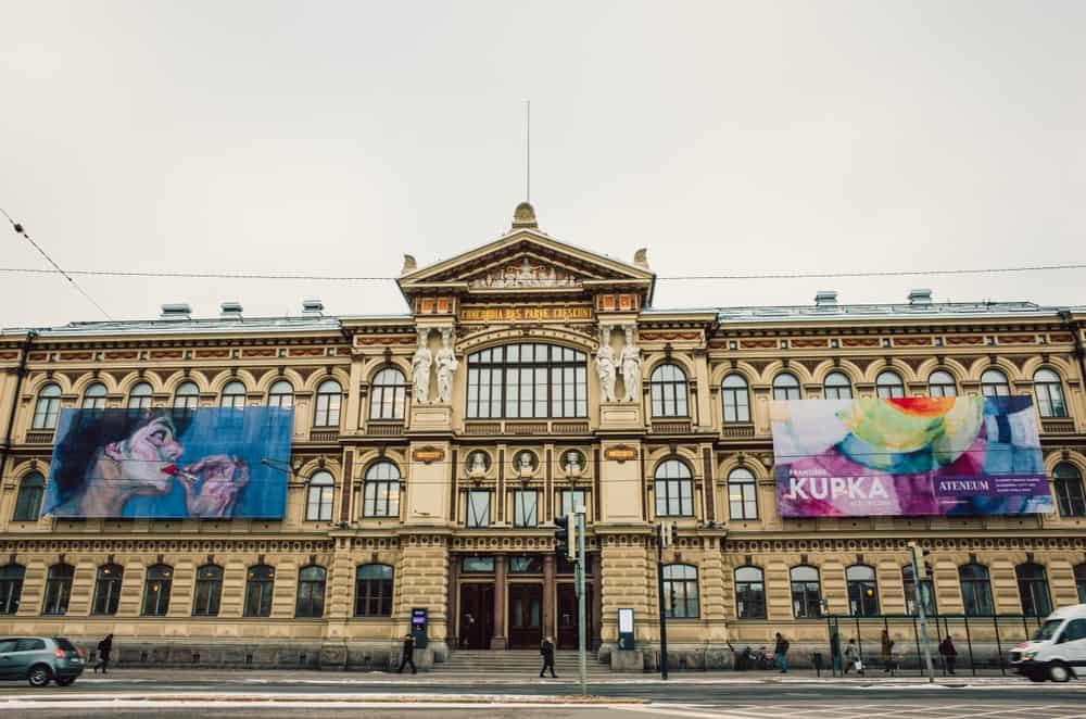 Ateneum (Finlandiya Ulusal Sanat Müzesi) Helsinki Finlandiya