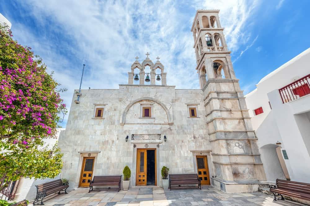 Ano Mera Manastırı Mykonos