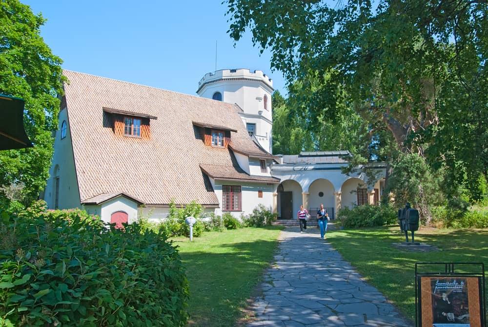 Gallen-Kallela Müzesi Helsinki Finlandiya