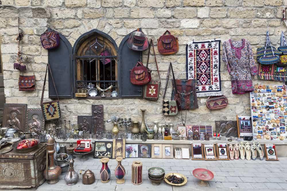 Bakü'de Alışveriş