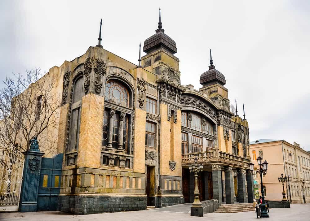 Azerbaycan Devlet Akademisi Opera ve Bale Salonu Bakü