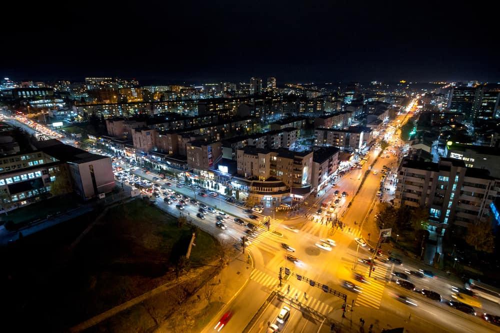 Priştine'de Gece Hayatı