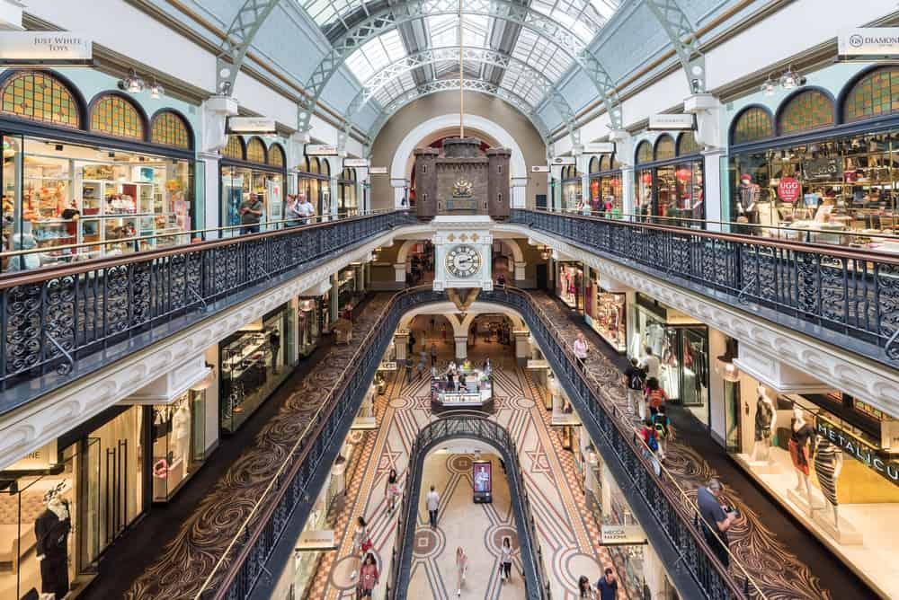 Kraliçe Victoria Binası Sydney Avustralya