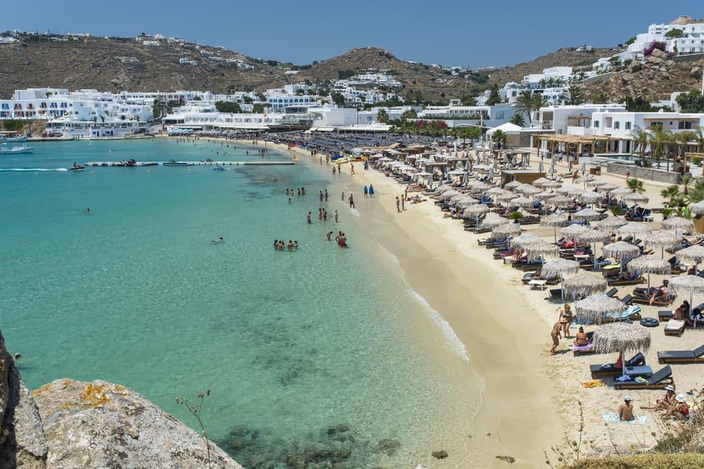 Platys Gialos Plajı Mykonos