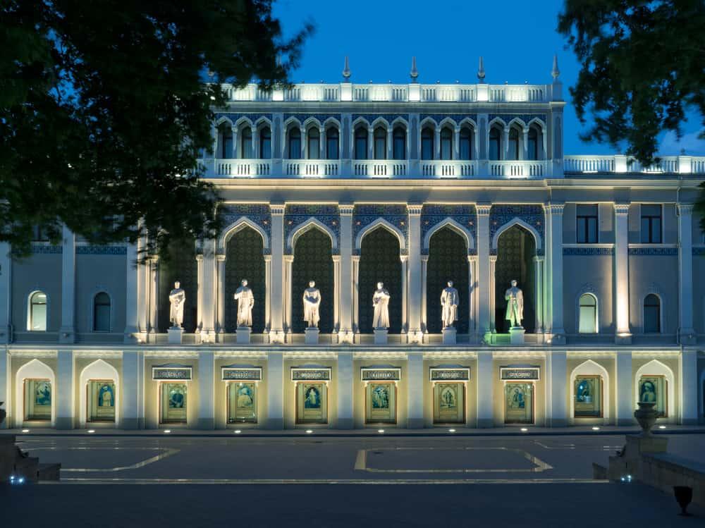 Azerbaycan Tarihi Müzesi Bakü