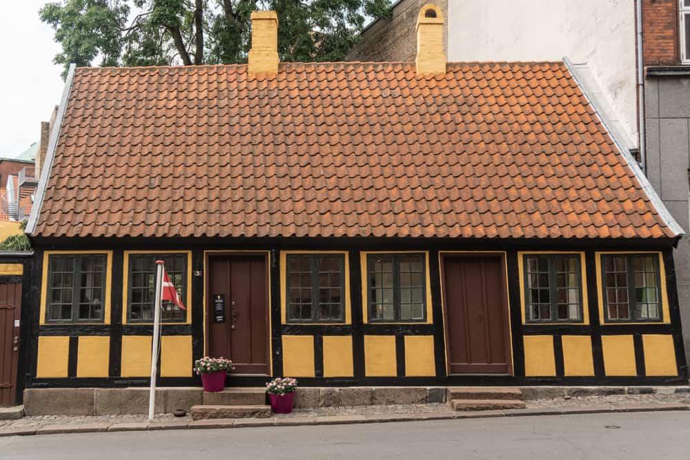 Andersen Evi Odense Danimarka Andersen Evi/Müzesi