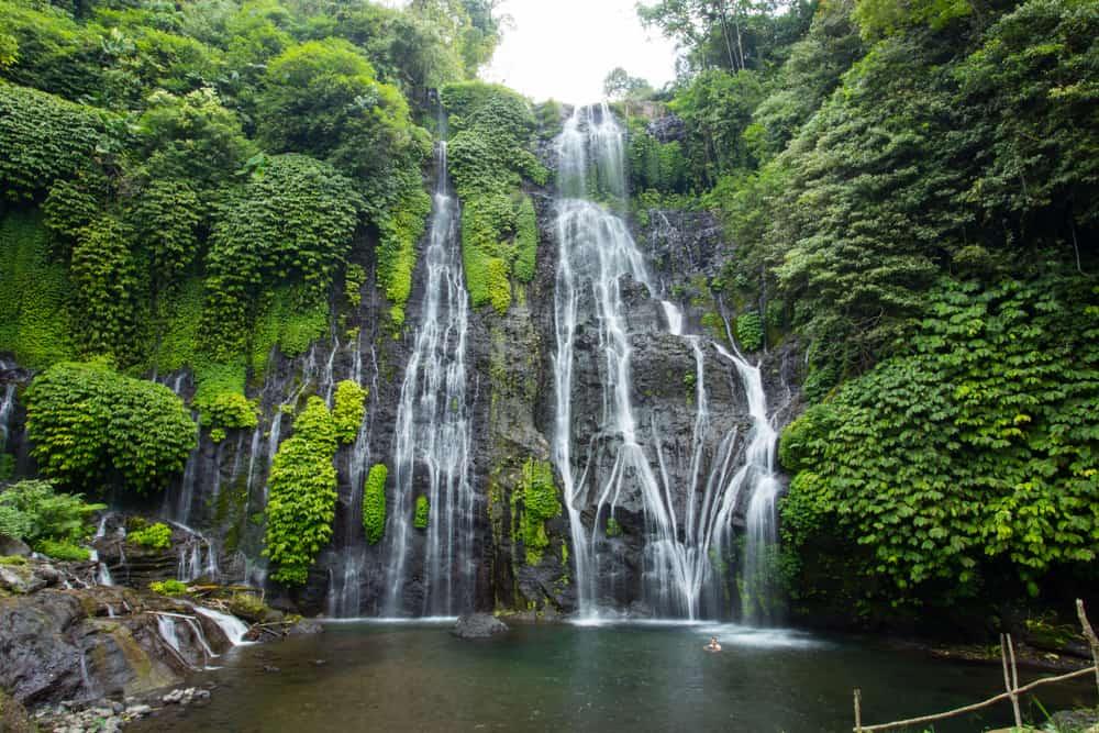 Banyumala Şelalesi Bali