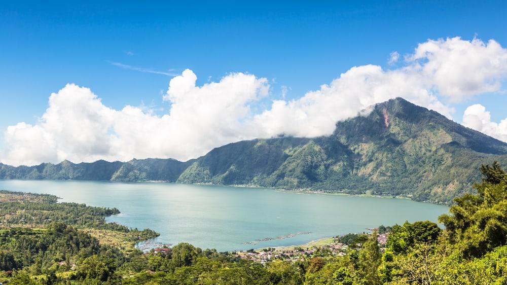 Batur Dağı ve Batur Gölü Bali