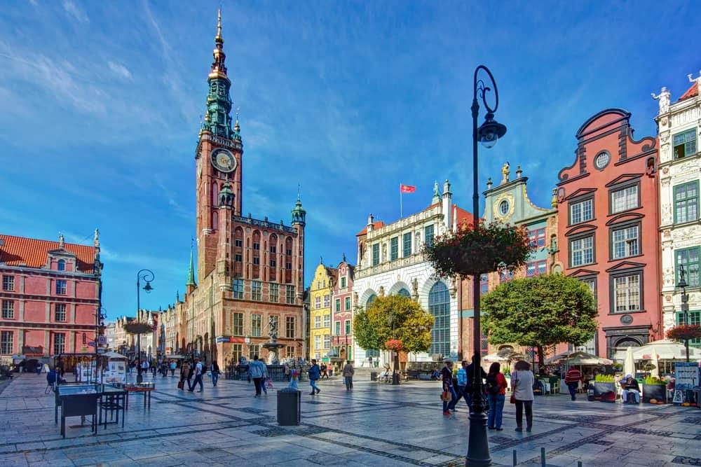 Belediye Binası Gdansk Polonya