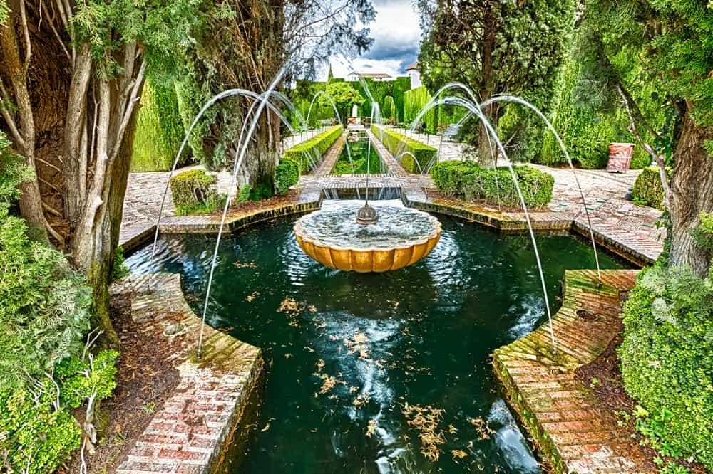 Granana Generalife Bahçeleri
