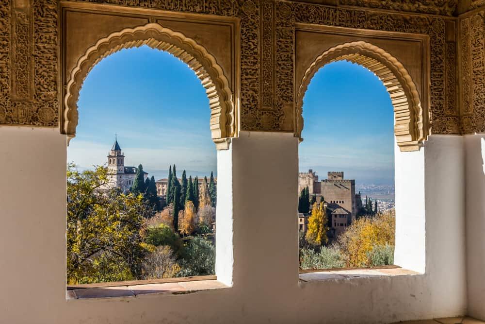 Generalife Bahçeleri Granada