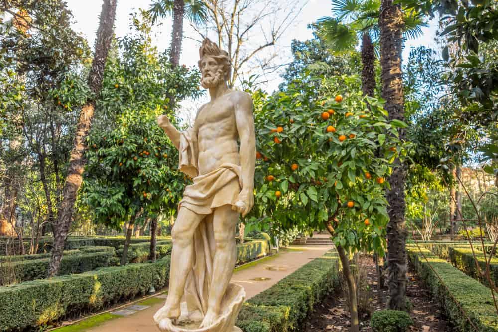 'Carmen de los Mártires' Parkı Granada