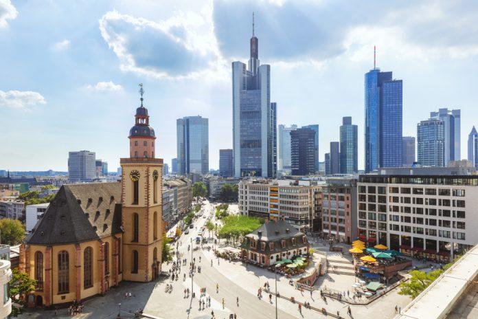 Hauptwache Meydanı Frankfurt