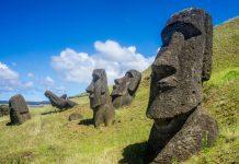 Moai Heykelleri, Şili