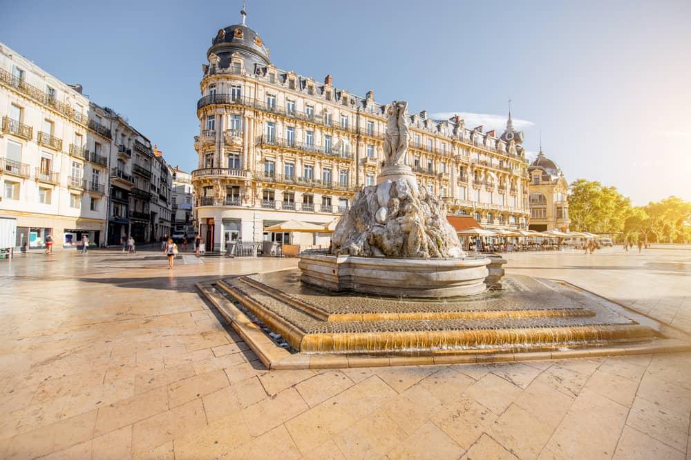 Montpellier Komedi Meydanı (Place de la Comédie)