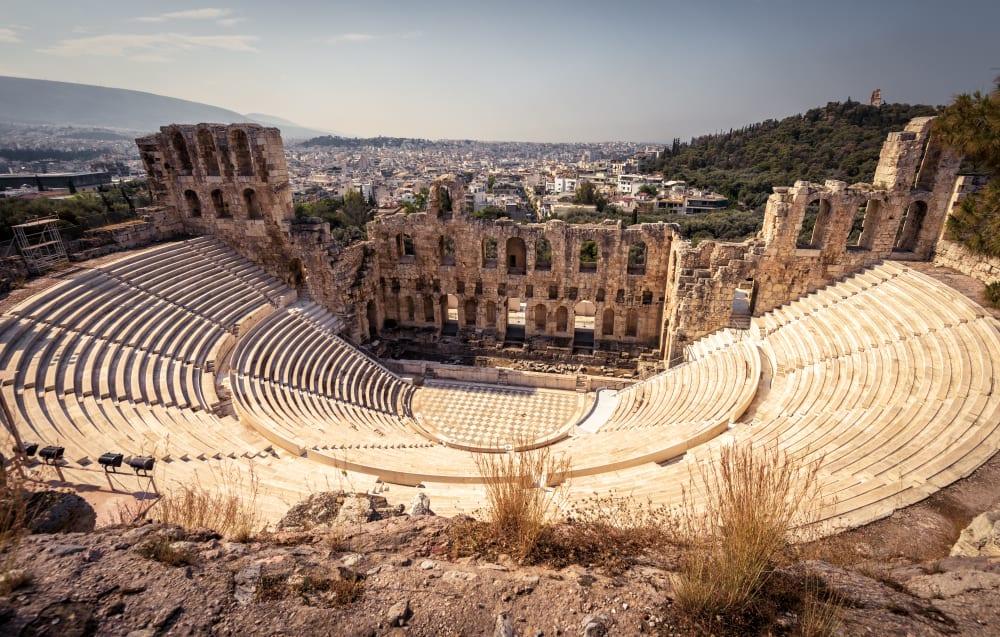 Odeon of Herodes Atticus, Atina, Yunanistan