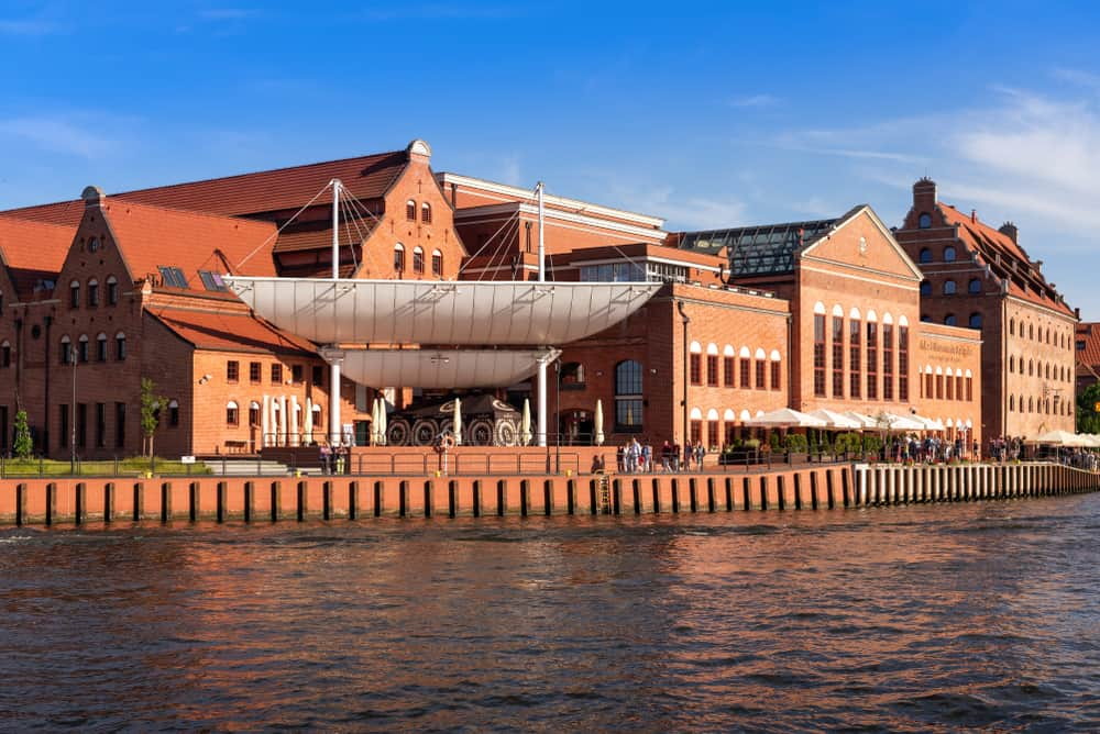Opera Bałtycka Gdansk Polonya