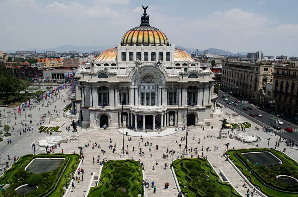Palacio de Bellas Artes, Mexico City, Meksika