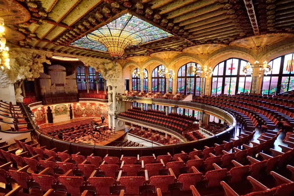 Palau de la Música Catalana, Barselona, İspanya