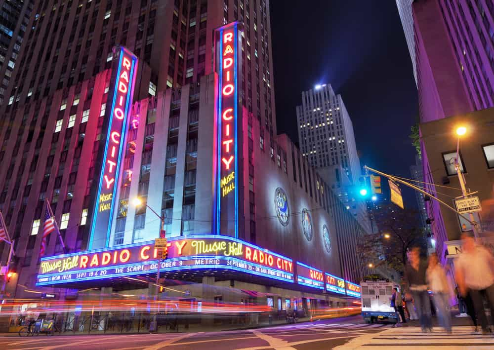 Radio City Music Hall, New York, ABD