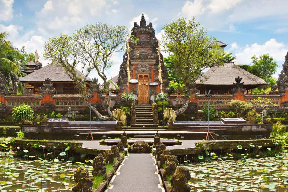 Saraswati Tapınağı Bali