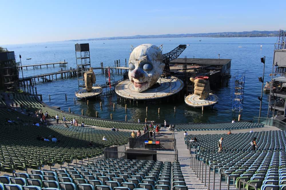 Seebühne, Konstanz Gölü, Avusturya