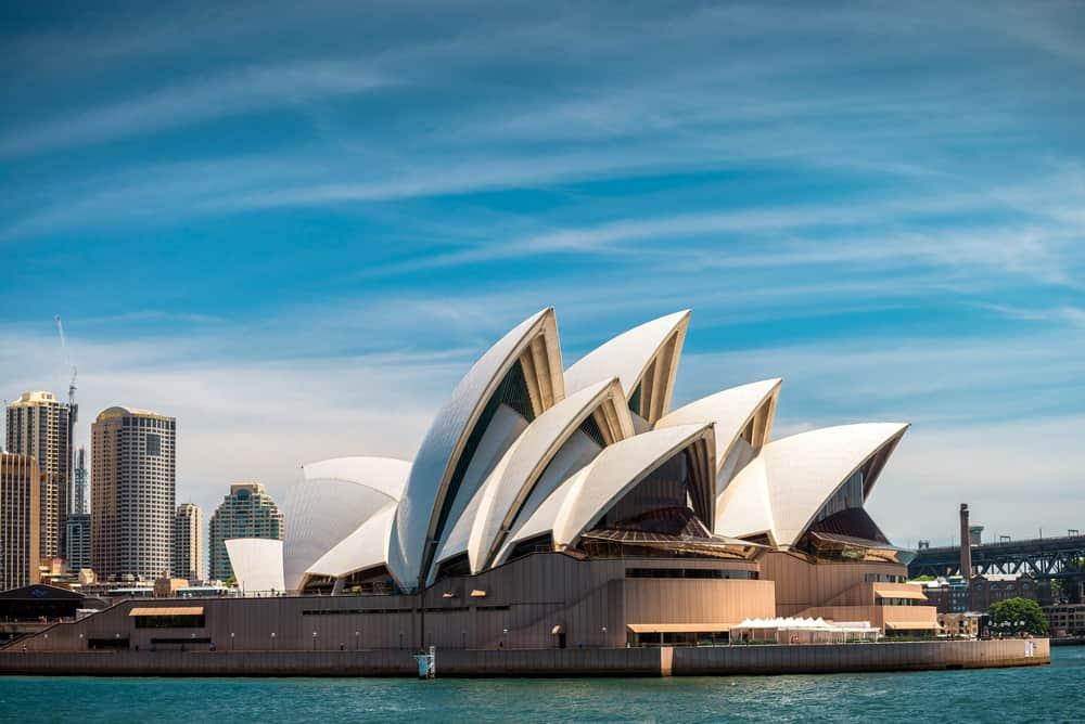 Sydney Opera Binası, Sydney, Avustralya