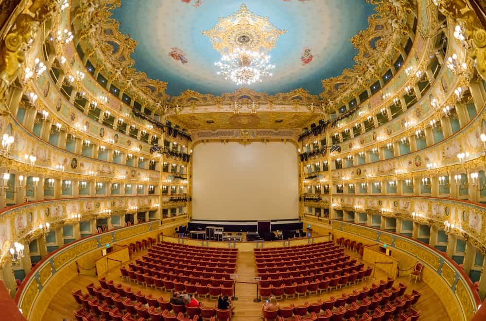 Teatro La Fenice, Venedik, İtalya