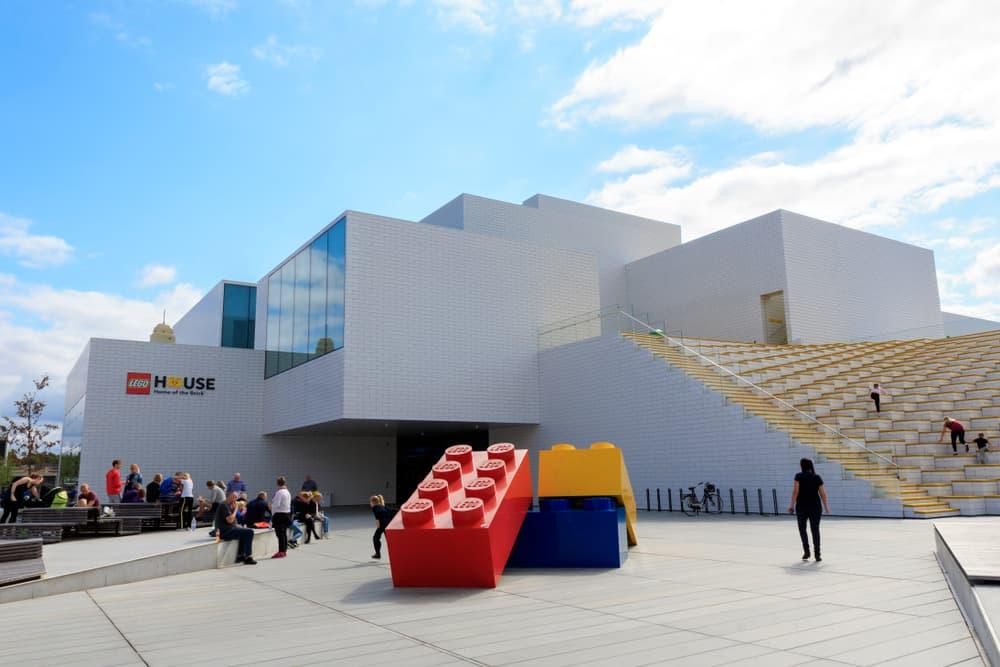 The Lego House Billund Danimarka
