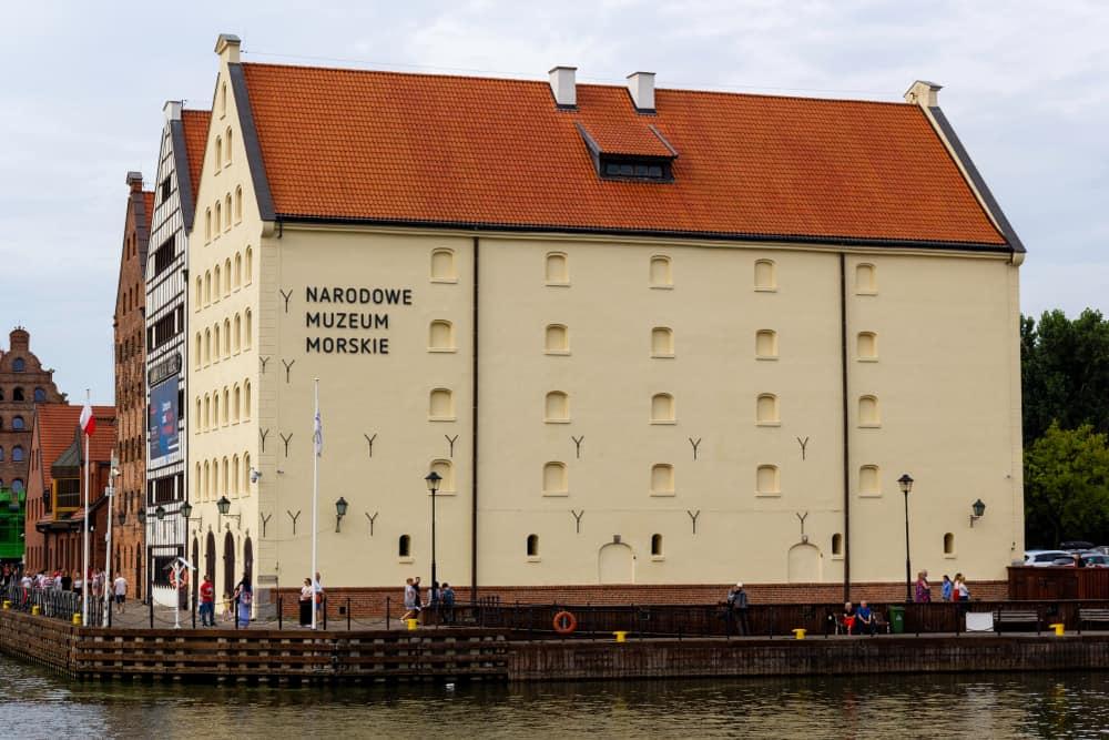 Ulusal Denizcilik Müzesi , National Maritime Museum Gdansk Polonya