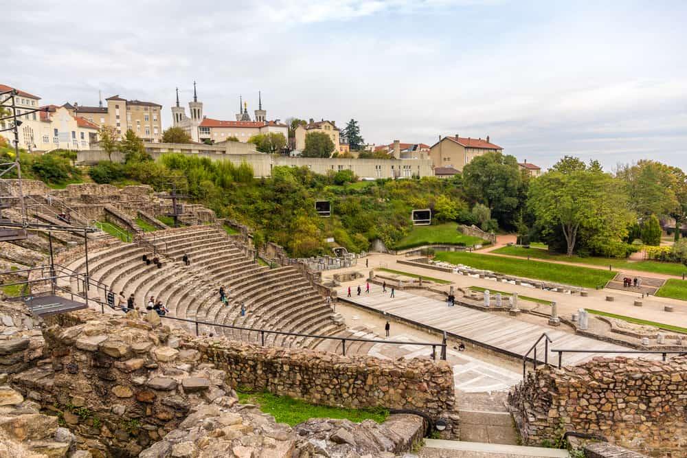 Antik Galya - Roma Tiyatrosu Lyon