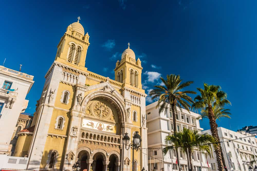 Aziz Vincent de Paul Katedrali Tunus