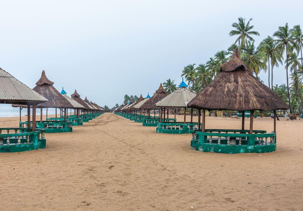 Badagry Bar Plajı Nijerya