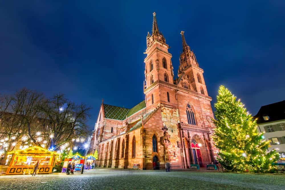 Basel, İsviçre Noel Pazarı