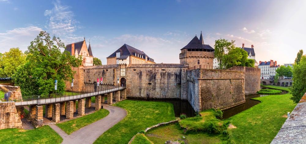 Bretonya Dükleri Şatosu (Château des Ducs de Bretagne) Nantes Fransa