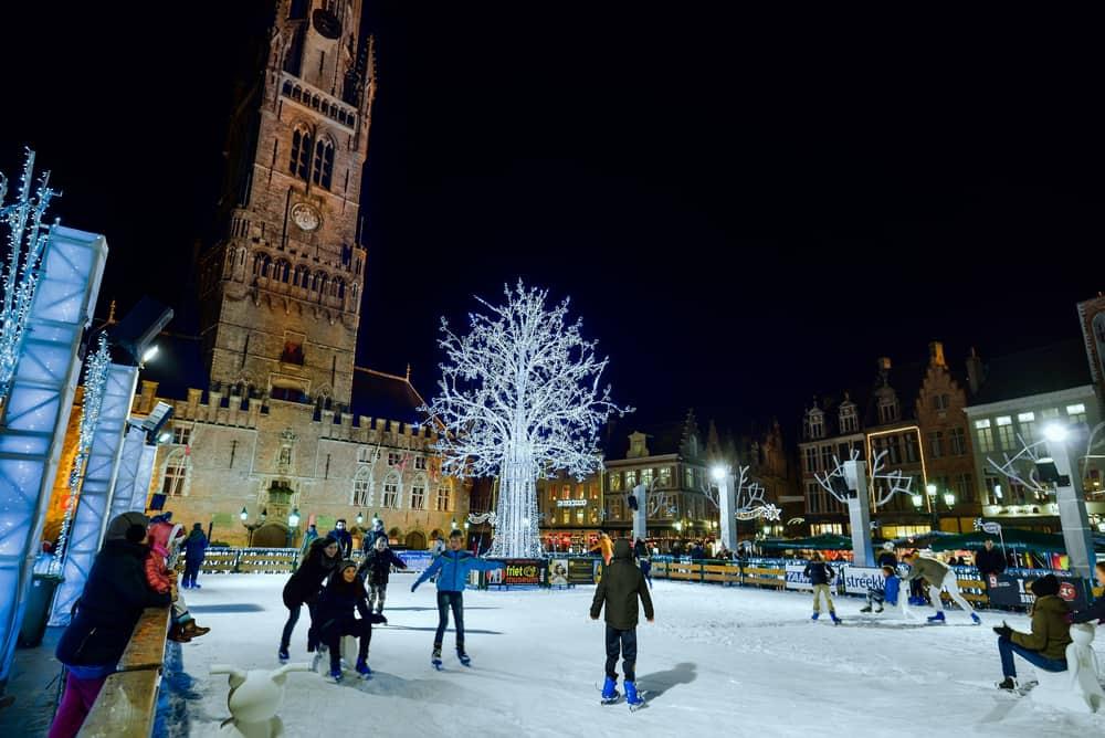 Brugge, Belçika Noel Pazarı