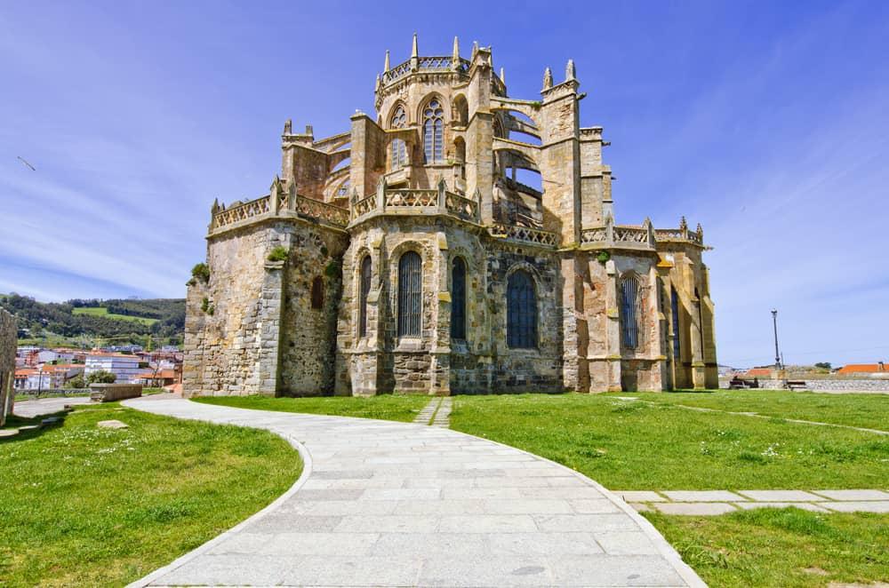 Castro Urdiales Kilisesi İspanya