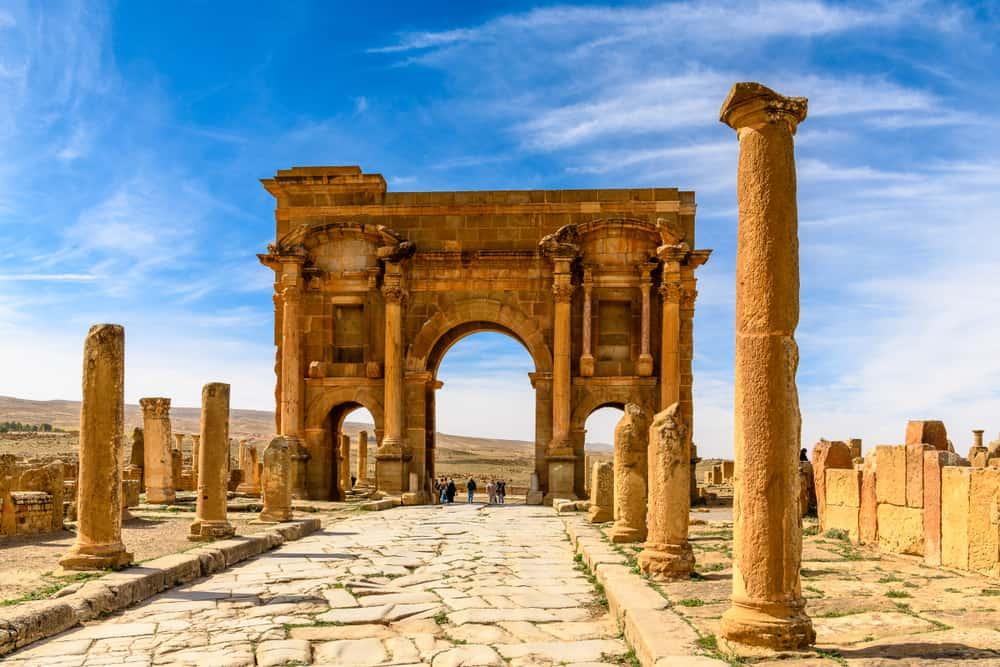 Cezayir Roma Kalıntıları
