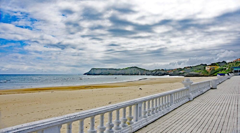 Comillas Plajı İspanya